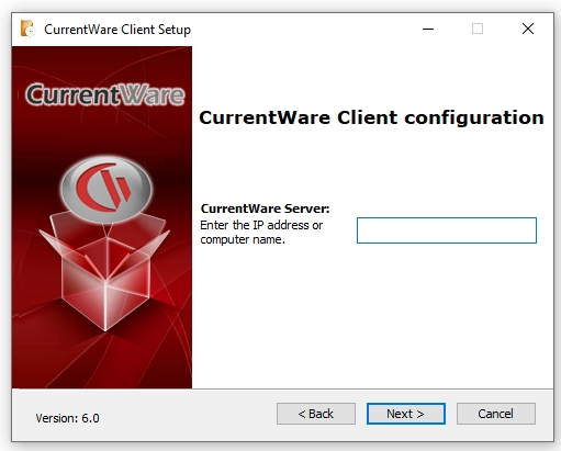CurrentWare Client Configuration