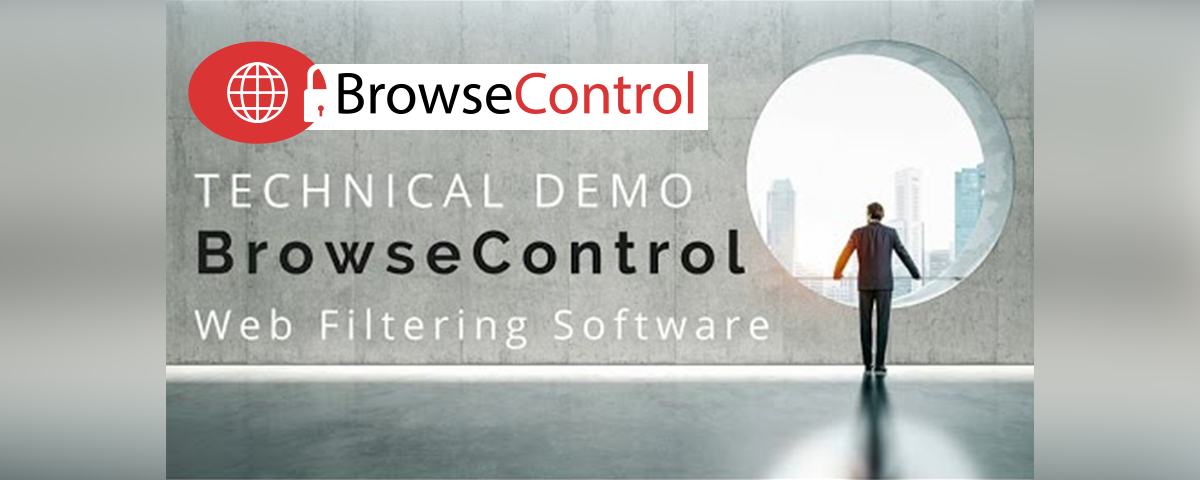 BrowseControl technical demo, web filtering software